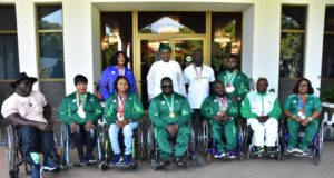 Aisha Buhari hails Nigeria's choice for Para Powerlifting World Cup