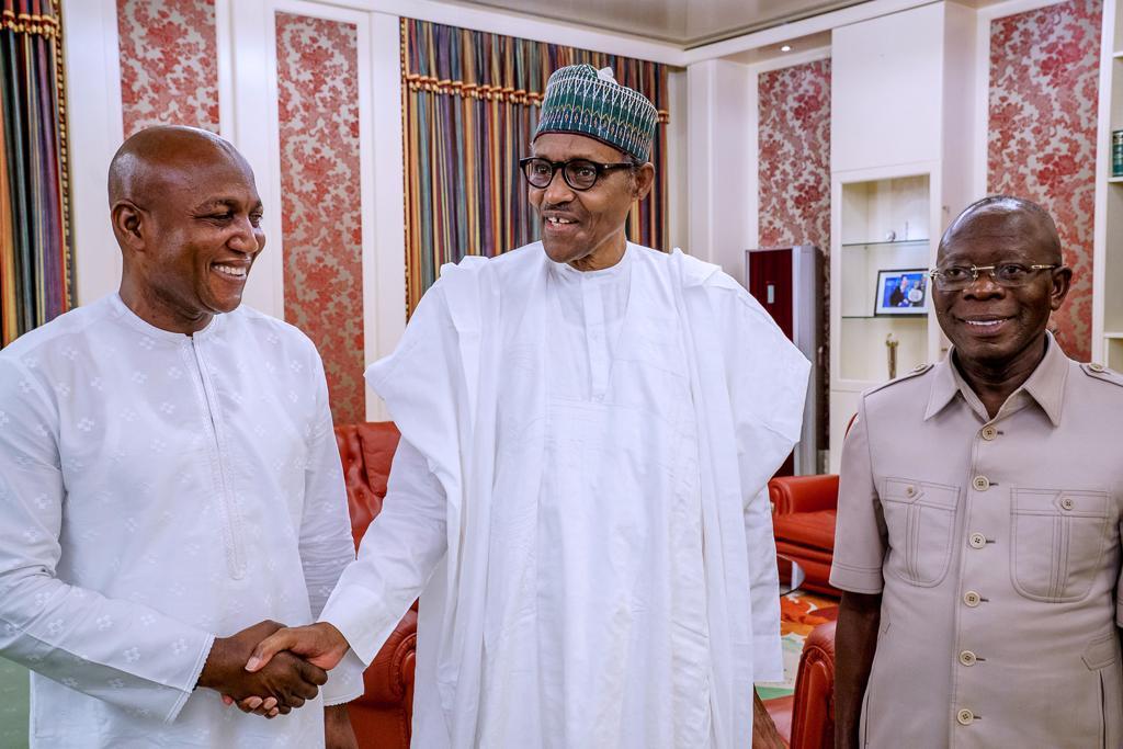 Buhari congratulates Bayelsa Governor-Elect, David Lyon