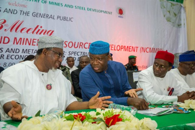 Fayemi, minister seek stakeholders buy-in for mining sector