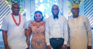 PHOTO NEWS: Behold Fayemi at Fayose's son's wedding