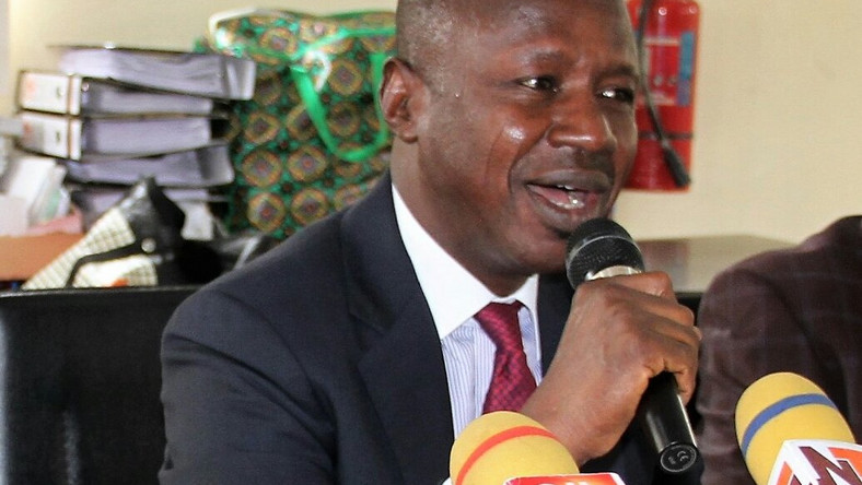 Magu charges EFCC Staff to brace up for more work