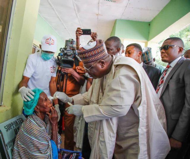 Ahmad Lawan: Giving succour to the needy
