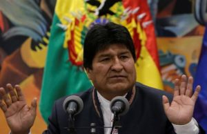 Bolivia's President Morales resigns after protests, lashes out at 'coup'