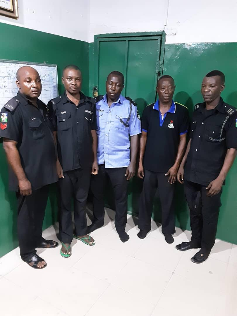 JUST IN: Five police officers arrested in connection with killing in Oshodi