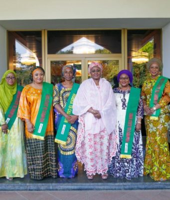 Aisha Buhari charges governors' wives on maternal and child health