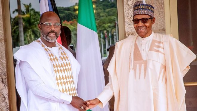 We'll ensure stability of Liberia, says Buhari