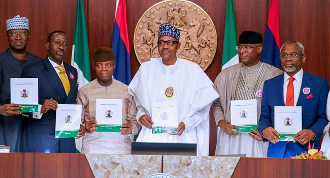 Buhari launches security strategy, pledges commitment to safer Nigeria