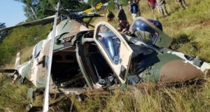 Three rescue workers killed in helicopter crash