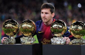 Lionel Messi wins 6th Ballon d'Or award