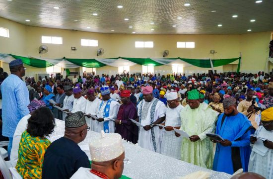 Make people's welfare your priority, Fayemi tells new council chairmen