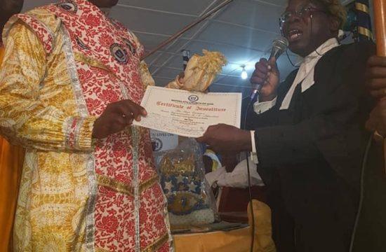 Pomp at Akinadewo's investiture as Omo Jesu II