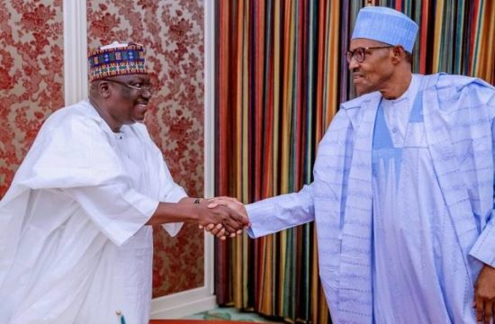 Lawan at 61: How maturity has translated to many achievements -Buhari