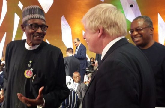 Buhari meets with British PM, explains gains of his administration