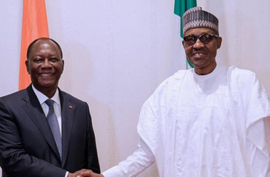 Ouattara has stabilised Cote d'Ivoire -Buhari