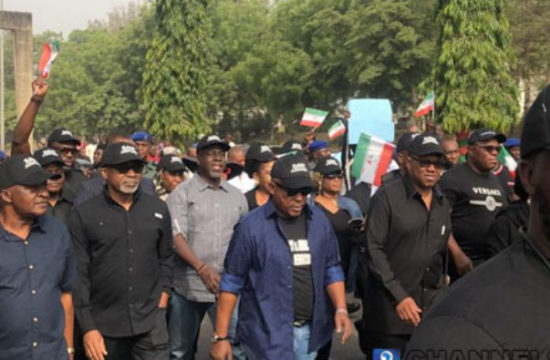 Imo guber: PDP in protest march against Supreme Court sack of Ihedioha