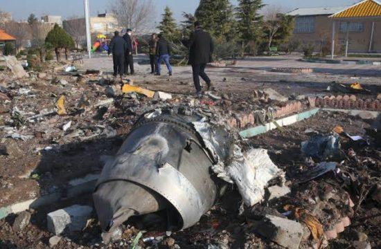 Iran plane crash: Ukrainian jet was 'unintentionally' shot down -State TV