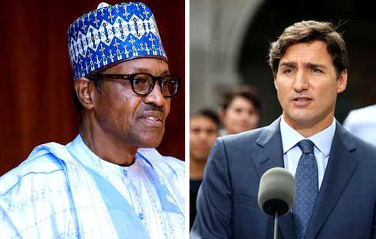 Buhari, PM Trudeau of Canada hold talks to strengthen ties