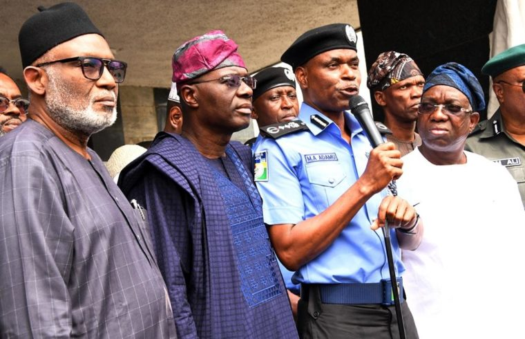What IGP, South-West governors agree on Amotekun
