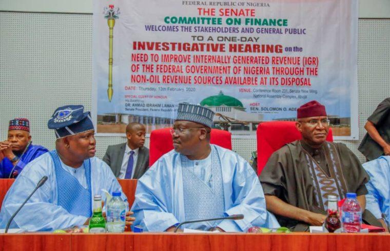 Senate tasks revenue agencies to set targets for performance