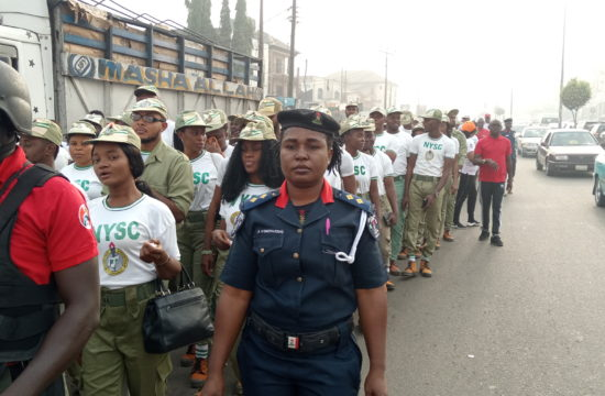 Ondo NYSC corps members walk against corruption
