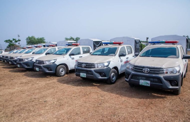 Kwara: Govt gives new operational vehicles to security agencies