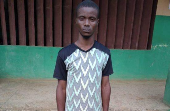 Police arrest Samora, suspected Aiye Confraternity deadly kingpin