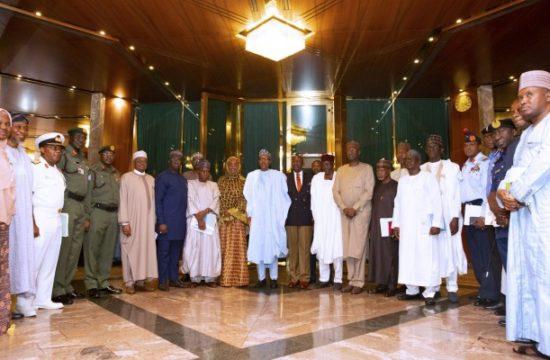 Buhari sets up humanitarian committee, says peace must return to N'East