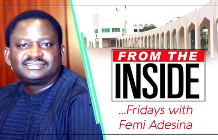 Why we need to calm down, By Femi Adesina