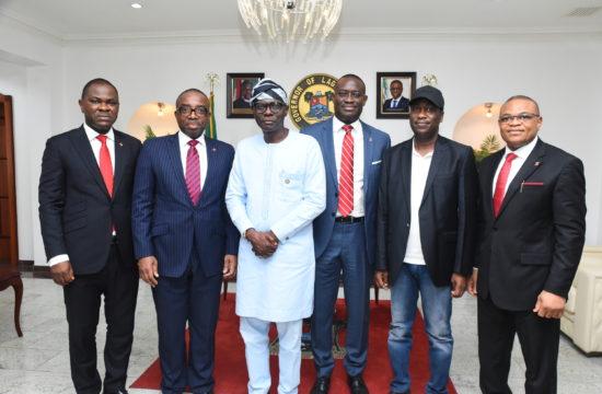 Abule Ado explosion: Zenith Bank visits Sanwo-Olu, donates N100 million