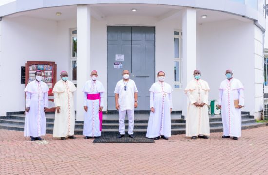 Catholic bishops meet Uzodimma, pledge support