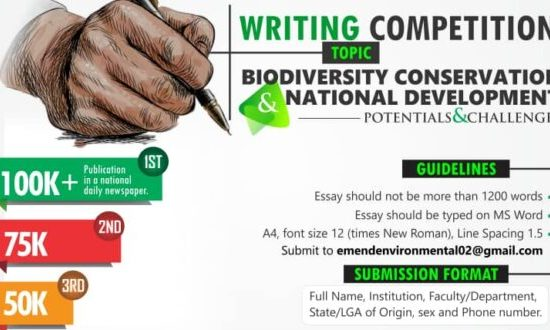 World Environment Day: EMEND opens essay competition for undergraduates