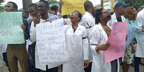 Resident Doctors issue 14-day strike notice to FG