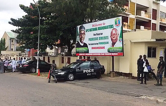 Leadership crisis: Police storm APC secretariat, seal it off