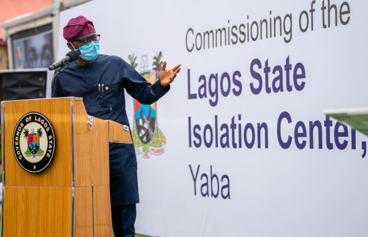 Lagos to build international infectious disease research centre –Sanwo-Olu