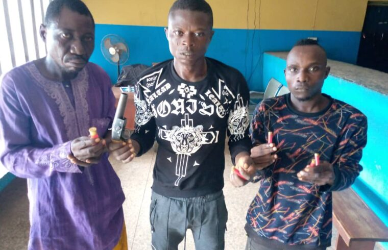 Three members of robbery syndicate terrorising Mowe, Ofada arrested