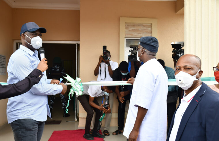 COVID-19: Makinde commissions upgraded Agbami isolation centre