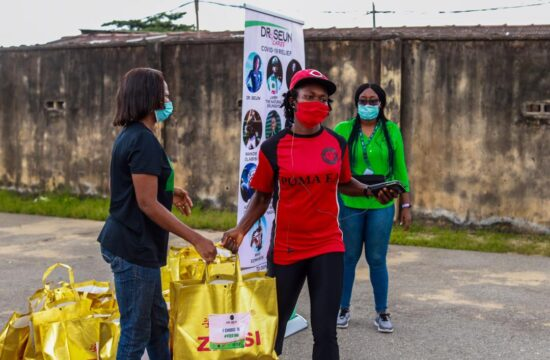 Olympics star launches COVID-19 relief initiative for Nigerians