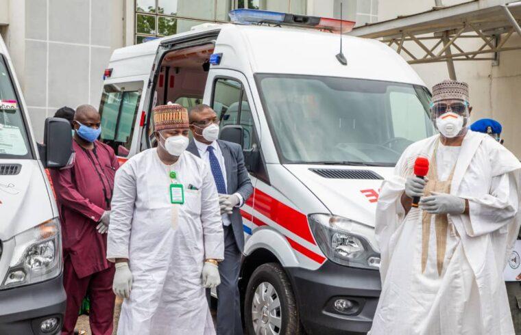 AbdulRazaq hails health workers as Kwara gets new ICU ambulances