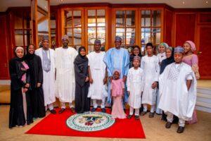 PHOTO NEWS: Buhari celebrates Eid-el-Kabir