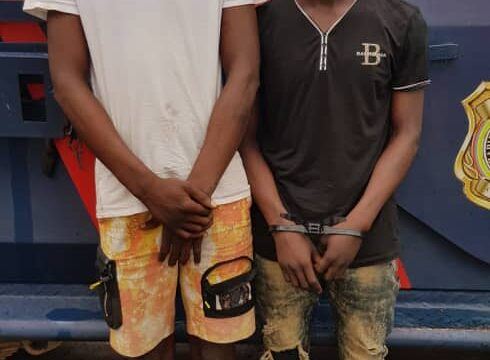 Two traffic robbery suspects arrested, phones recovered