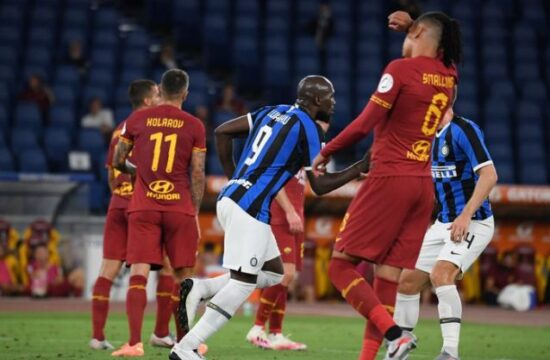 Inter Milan's title challenge falters in 2-2 draw at Roma