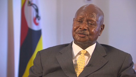 Uganda's Museveni seeks re-election to extend rule to 4 decades