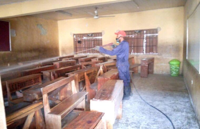 Lagos govt intensifies fumigation of schools ahead of resumption