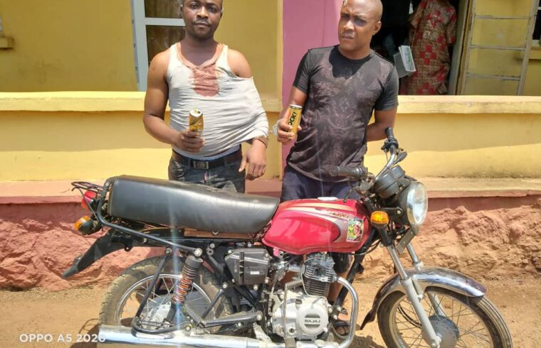 How we drug owners before snatching motorcycles –Suspected robbers