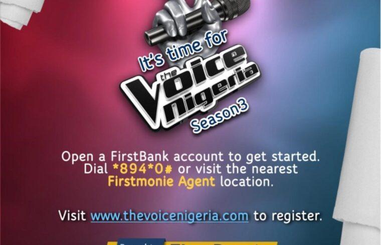 FirstBank partners UN1TY Nigeria for The Voice Nigeria, Season 3