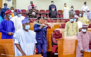 Lagos: Behold first female to carry the Mace in House of Assembly