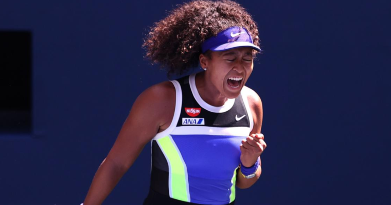 Osaka outlasts Brady to reach U.S. Open final