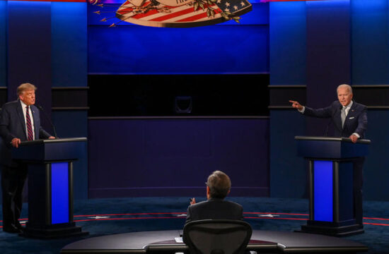 US election 2020: Trump and Biden duel in chaotic, bitter debate