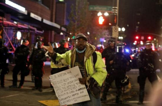 Meet the Americans 'standing by' for possible election violence