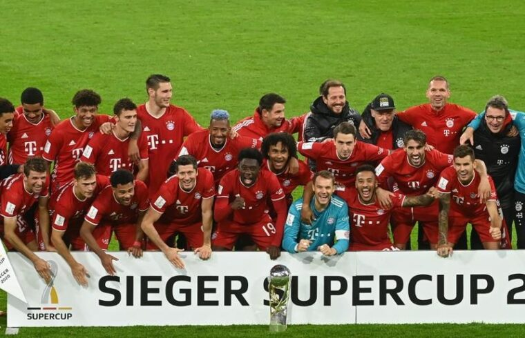 Bayern Munich ride luck to win German Super Cup and fifth title of year
